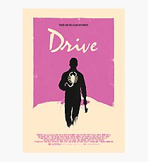 Drive (2011) Custom Poster Photographic Print