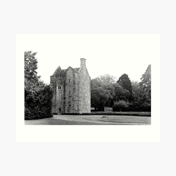 Ashtown Castle, Phoenix Park, Dublin Art Print