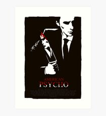 American Psycho (2000) Custom Poster Art Print