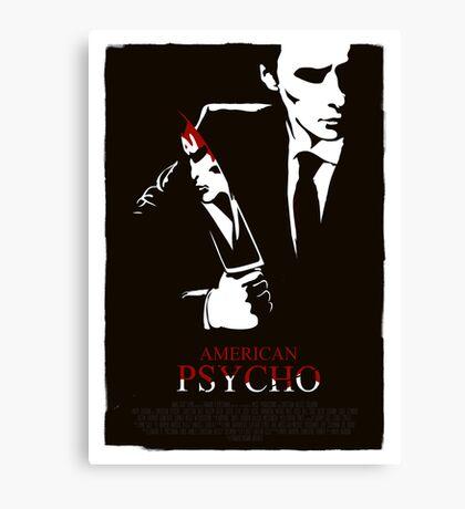 American Psycho (2000) Custom Poster Canvas Print