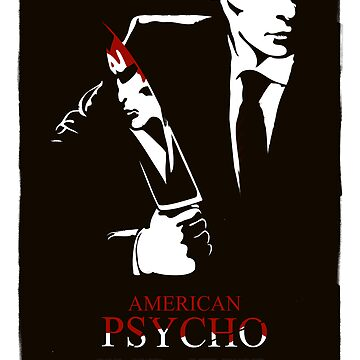 American Psycho (2000) Custom Poster by Rusty100