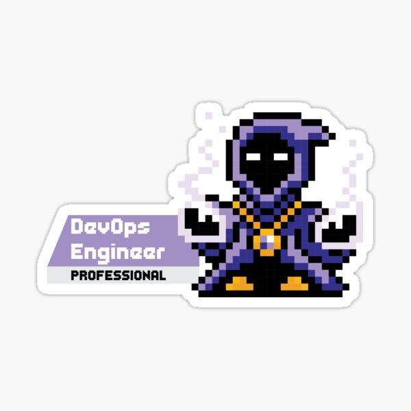 8-bit AWS Certified DevOps Engineer Professional Sticker
