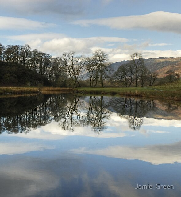 The Pool In The River Brathay by Jamie  Green
