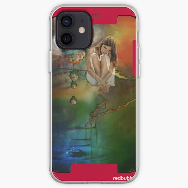 The bursting of girls' dreams  iPhone Flexible Hülle