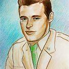 Portrait of Guy Madison by karina73020