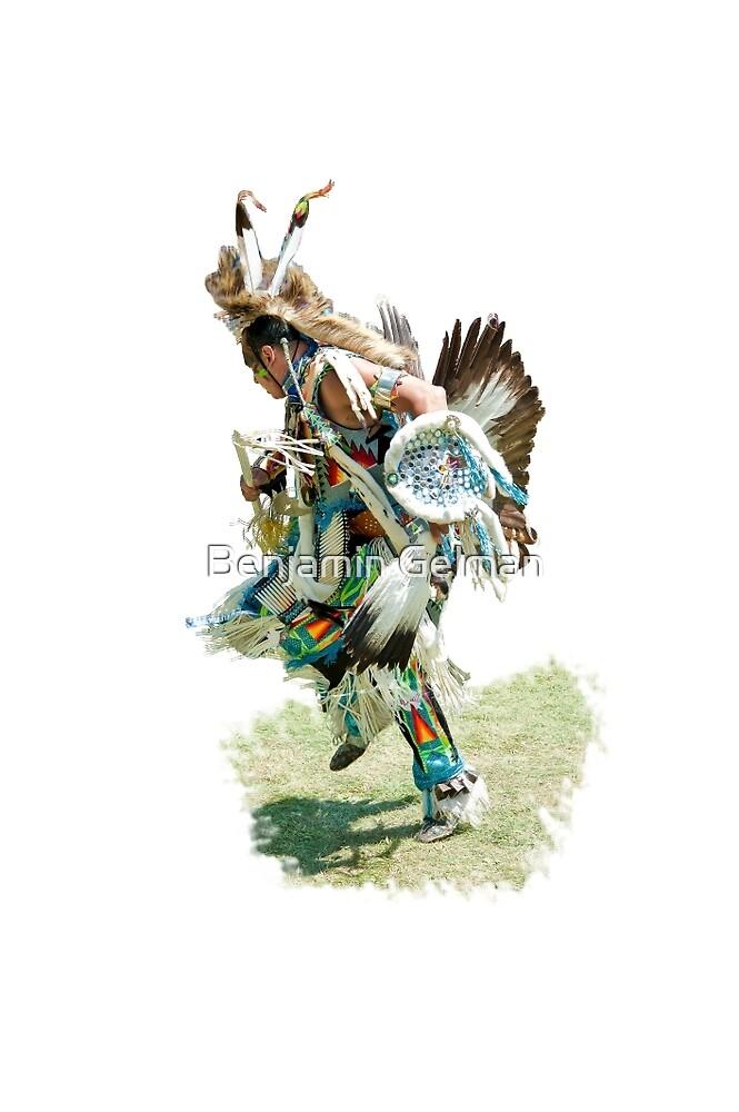 Indian war dance by Benjamin Gelman