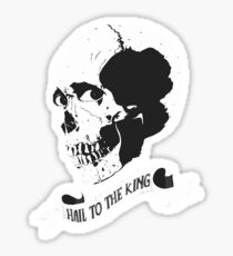 Hail to the King - Evil Dead 2 Sticker