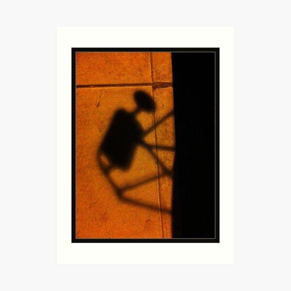Shadow Bug Art Print