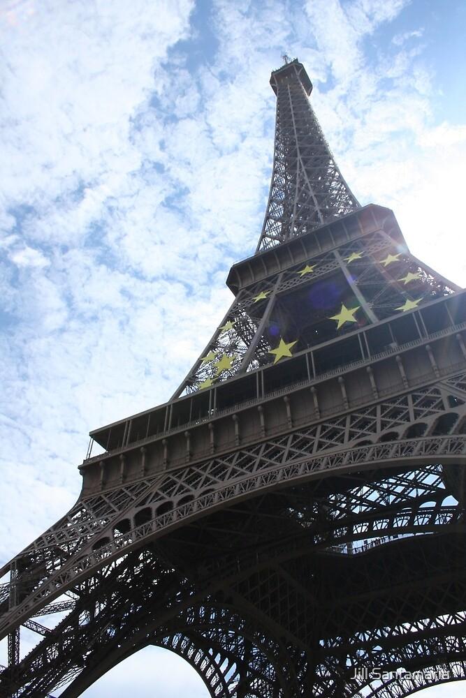 Eiffel Tower by Jill Santamaria
