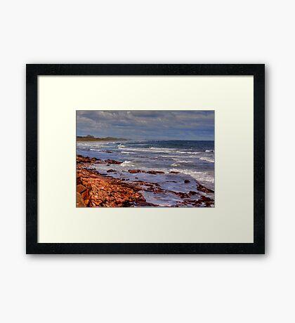 Sea View - Bamburgh Framed Print