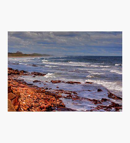 Sea View - Bamburgh Photographic Print