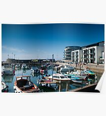 West bay Harbour.  Poster