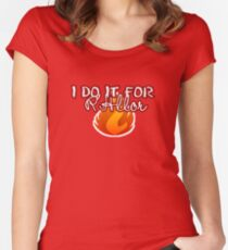 ...Oops. Women's Fitted Scoop T-Shirt
