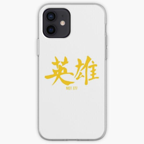 NCT 127 'KICK IT' Logo iPhone Soft Case