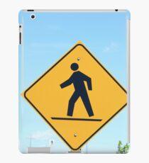 Crosswalk Sign iPad Case/Skin