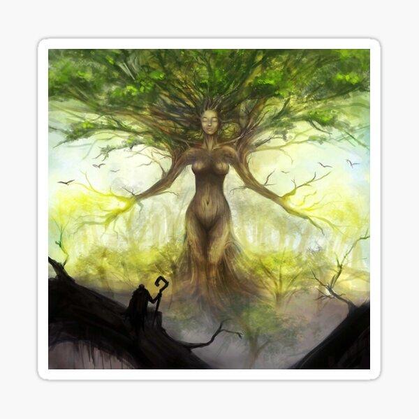 Vitalya, the Origin Tree      Sticker