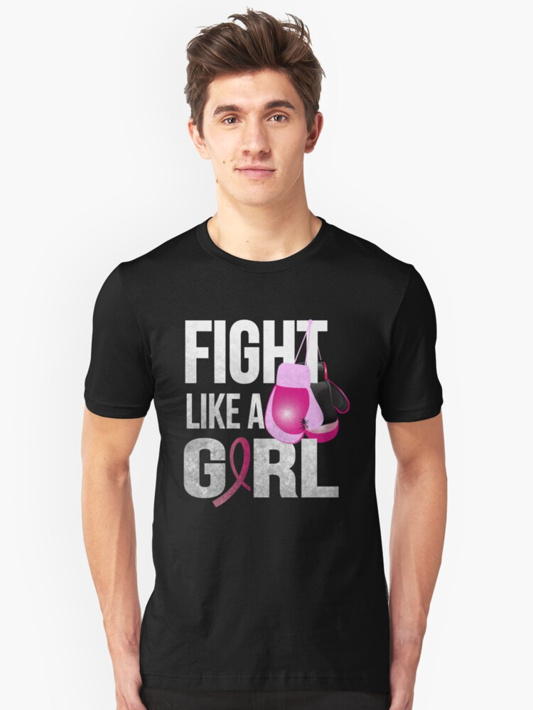 Fight Like A Girl Unisex T-Shirt Front