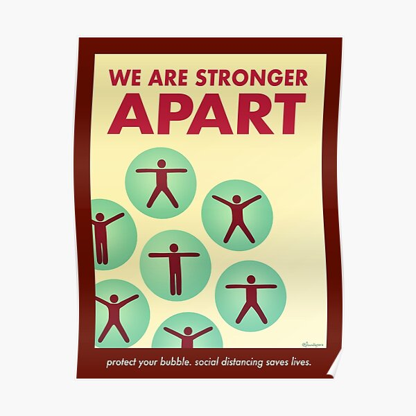 We Are Stronger Apart Poster