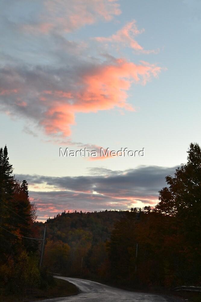 Fall Evening Sky by Martha Medford