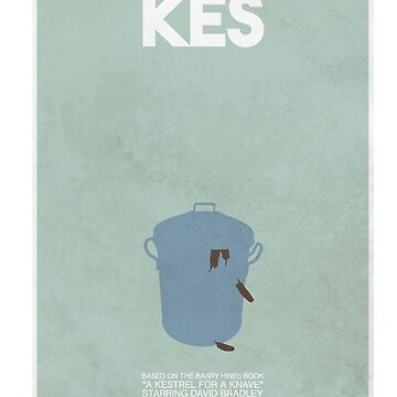 Kes - Minimalist Movie Poster by WASABISQUID