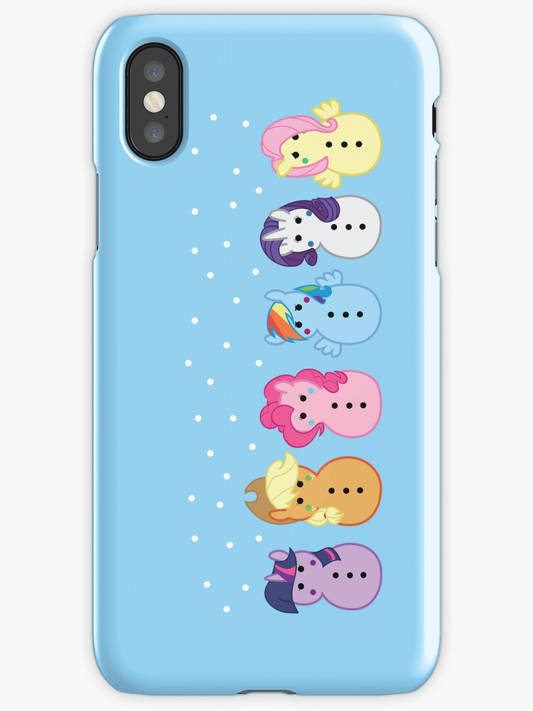 redbubble iphone cases quot snowponies iphone quot iphone cases amp covers by rachael 12847