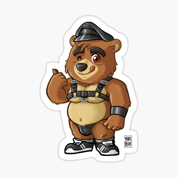 KINKY CUB - BEARZOO SERIES Sticker
