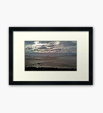 Offshore Gale Framed Print
