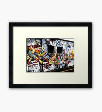 Urban Invasion Framed Print