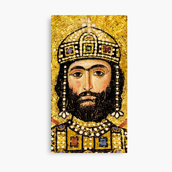 Alexios I Komnenos Canvas Print