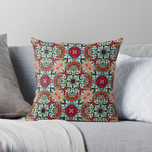 Kaleidoscope Kreation 1013 Throw Pillow
