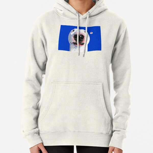 PUPPERNELSON WHITE BLUE EDITION Pullover Hoodie