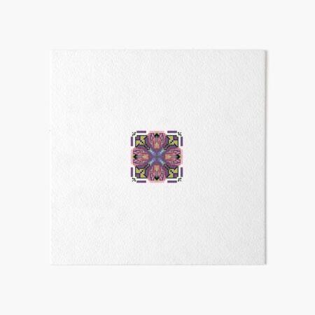 Purple Heart Weavers Core Art Board Print