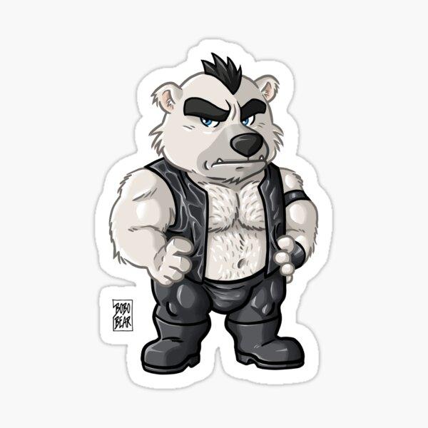 BOSSY BEAR - BEARZOO SERIES Sticker