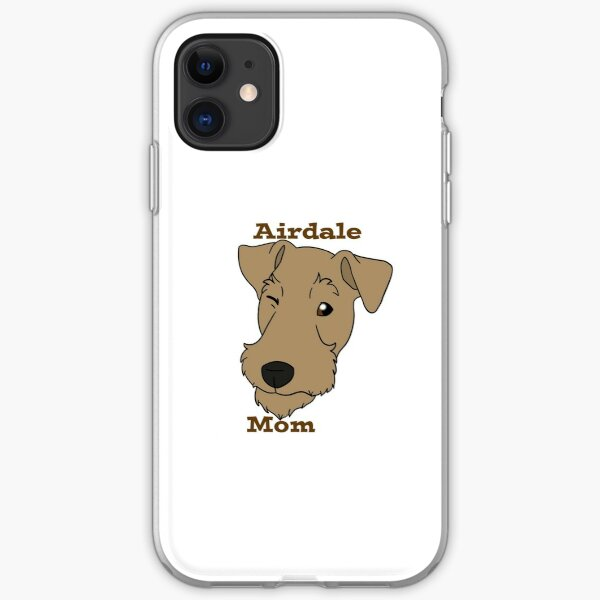 Airdale Mom iPhone Soft Case