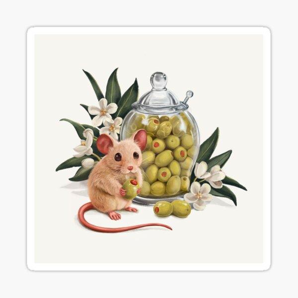 Aceitunas deliciosas Pegatina