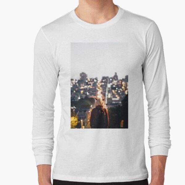 Horned Hoodie Long Sleeve T-Shirt