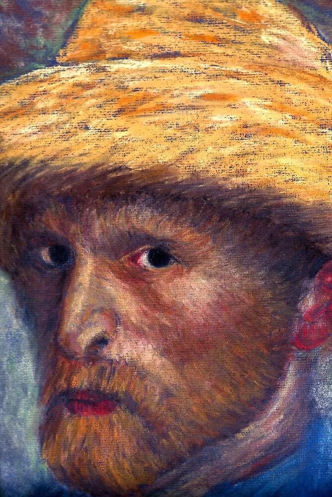 Kirk Douglas as Vincent (detail) by burramys