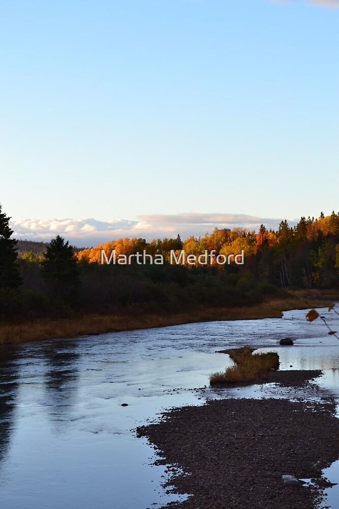 A River's Eve by Martha Medford