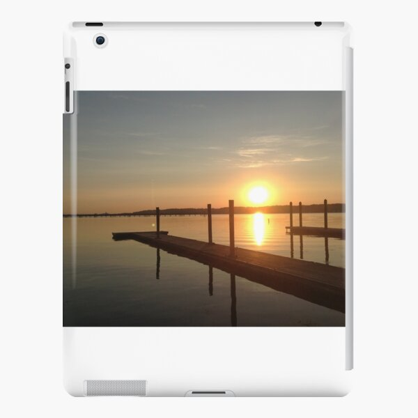 River Sunrise iPad Snap Case