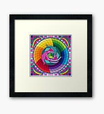 Sirius dolpin color scheme 1 Framed Print