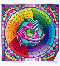 Sirius dolpin color scheme 1 Poster