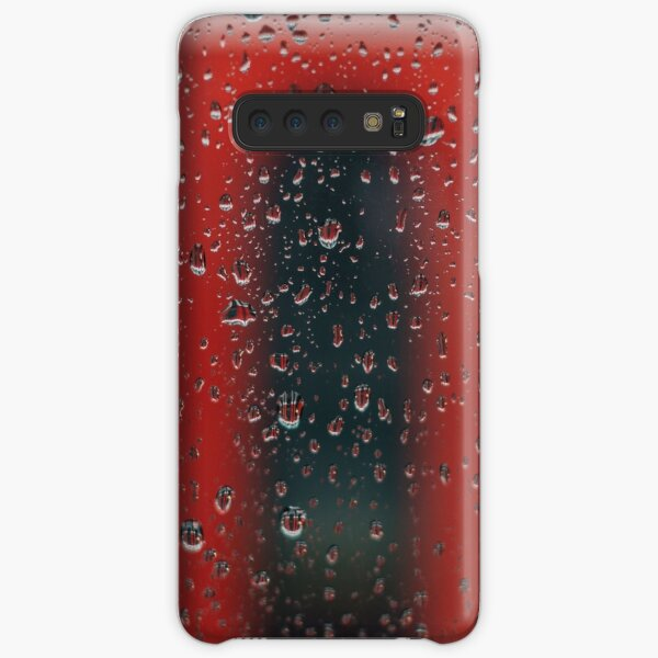 Red Rain Samsung Galaxy Snap Case
