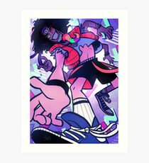Ultimate 80s Time Traveling Teen Art Print