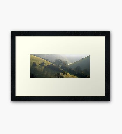 A Favourite Valley Framed Print