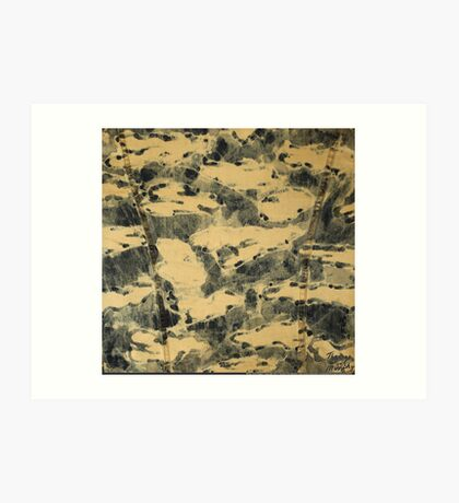 Water Camouflage Art Print