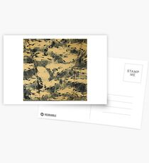 Water Camouflage Postcards