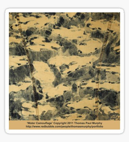 Water Camouflage  Sticker