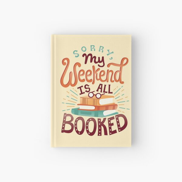 I'm booked Hardcover Journal