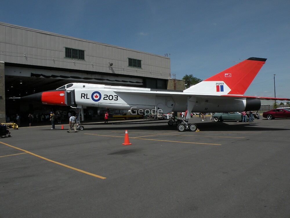 Avro Arrow canadian history by Geode