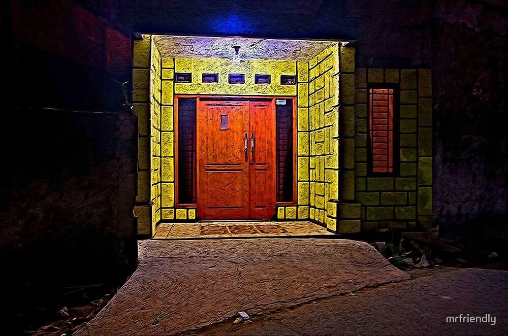 Yellow Wall by mrfriendly